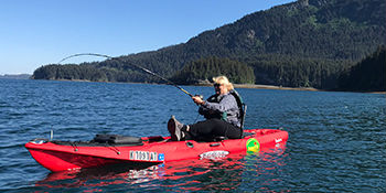 Kayak Fishing Tours