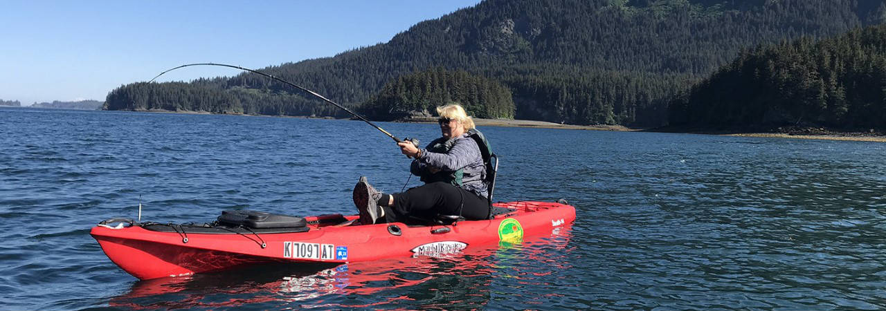 Just Add Water Alaska :: Kayak Fishing Tours