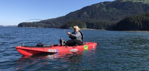 Kayak Fishing for Alaska Halibut