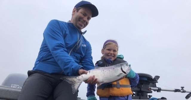Just Add Water Alaska :: Half Day Salmon Fishing Charter