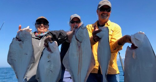 Just Add Water Alaska :: Half Day Halibut Fishing Charter
